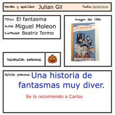 Un libro de aventuras que recomienda Julián