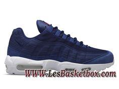 separation shoes 0b599 b8631 Homme Nike Air Max 95 Stussy Navy Blue 834668-441 Chaussures Officiel NIke  prix Pour