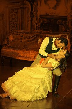 "Christine & Raoul (?). Pakistani production of The Phantom of Opera. ""Phantom of the Opera"" by Max Loxton, via Flickr."