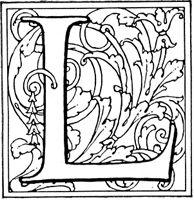 Decorative L