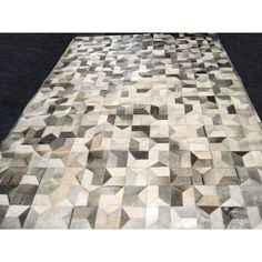 Modern Rugs Patchwork Multi Geo Gray Area Rug Rug Size: 3' x 5'