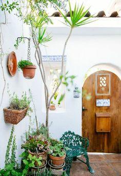 Boho Patio :: Backyard Gardens :: Courtyard + Terr :: Outdoor Living