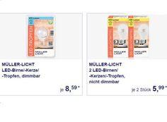 """Aldi-Süd: LED-Birnen von """"Müller-Licht"""" zu Schnäppchenpreisen https://www.discountfan.de/artikel/essen_und_trinken/aldi-sued-led-birnen-von-mueller-licht-zu-schnaeppchenpreisen.php Bei Aldi-Süd geht in der kommenden Woche ein Licht auf: LED-Birnen von """"Müller Licht"""" sind ab dem 18. Juli 2016 zu Schnäppchenpreisen zu haben. Insgesamt gibt es vier verschiedene Produkte, davon ein dimmbares. Aldi-Süd: LED-Birnen von """"Müller-Licht"""" zu Schnäppche"""