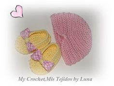 My Crochet , Mis Tejidos: Baby Sandals and Pattern