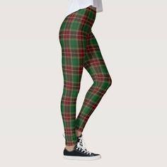 (Scottish Clan Baxter Tartan Leggings) #Baxter #Clan #Green #Plaid #Red #Scottish #Tartan is available on Funny T-shirts Clothing Store   http://ift.tt/2eBNeom