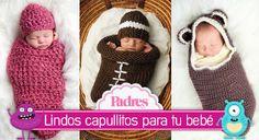 10 ideas de capullos tejidos en crochet para bebés