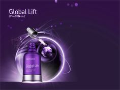 Global Lift Face and Neck Elixir 3 serums in one to combat ageing, thin and slacking skin! www.continentalcosmetics.com