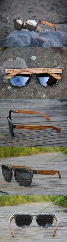 Personalized Wood Sunglasses. Zebra Wood. Polarized Sunglasses. Mens  Sunglasses. Womens Sunglasses 7d80c76be60a