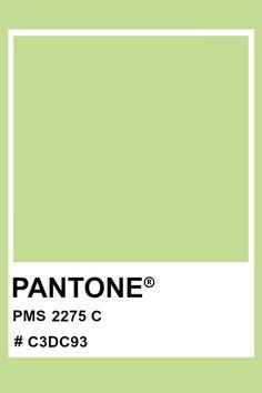 PANTONE 2275 C #pantone #color #PMS #hex Pantone Green, Pantone Color, Shades Of Green, Green And Grey, Pantone Matching System, Skin Shades, Pms Colour, Logo Design, Graphic Design