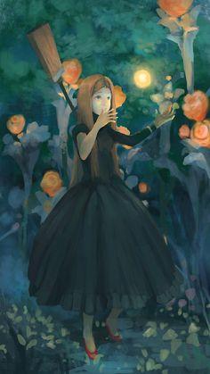 Witch by artcobain.deviantart.com on @deviantART