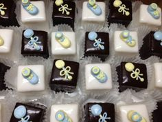 Petit Fours for Baby Shower