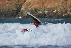 Adventurous Experiences Blog: Sea Kayak Surfing - Isle of Man