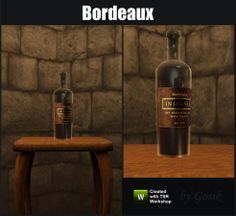 Gosik's Bordeaux Opened Wine Bottle