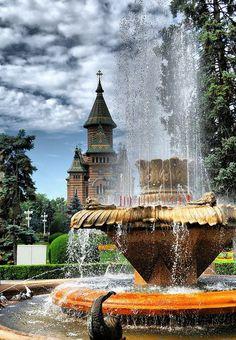 Timisoara , a beautiful city in Romania