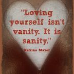 loving yourself is not vanity, it is sanity - Katrina Mayer Body Love, Loving Your Body, Cool Words, Wise Words, Quotes To Live By, Me Quotes, 2015 Quotes, Funny Quotes, Positive Body Image