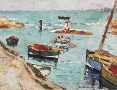 George Leslie Hunter | Boats, Lower Largo