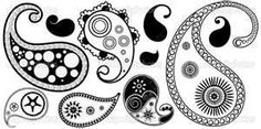 Colorful Paisley Designs