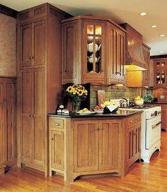 Corner Mission Kitchen Cabinets Good Mission Kitchen Cabinet Idea