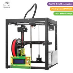 Free shiping Flyingbear-P905 DIY 3d Printer kit Full metal Large printing size High Quality Precision Makerbot Structure Gift #Affiliate