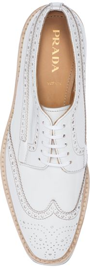prada - love this for women: jeans, white tshirt, white blazer = understated elelance