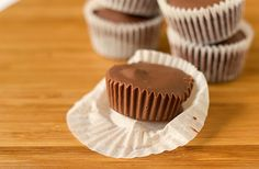 Homemade Peanut Butter Cups. We all know what the boyfriend will be snacking on this weekend.