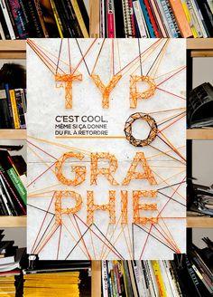 La typographie c'est... by Benjamin Gouttebarge, via Behance : http://www.behance.net/gallery/La-typographie-cest/6733809#