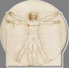 Proportion: DaVinci's 'Vitruvian Man'. Lesson plan for exploring the Golden Proportion.