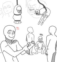don't repost my art without credit (Posts tagged draw the squad) Drawing Meme, Funny Drawings, Anime Drawings Sketches, Ship Drawing, Pencil Drawings, Drawing Reference Poses, Drawing Poses, Funny Poses, Draw The Squad