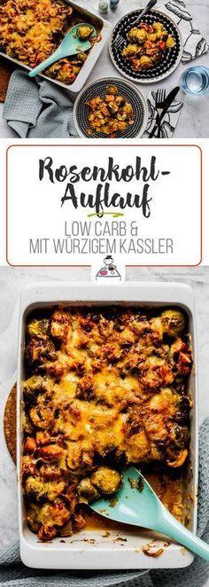 Herzhaft, heiß und lecker kommt dieser Low Carb-Auflauf aus dem Ofen. Mit viel Ballastoffen und Vitaminen einen tolles Essen für die ganze Familie.