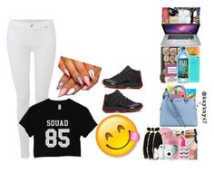 """Squad"" by littlediva444 ❤ liked on Polyvore featuring 7 For All Mankind, Retrò, women's clothing, women, female, woman, misses and juniors"