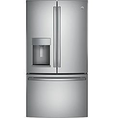 """Amazon.com: GE GFE26GSKSS 36"""" Energy Star, ADA Compliant French Door Refrigerator with 25.8 cu. ft. Capacity, Stainless Steel: Appliances"""