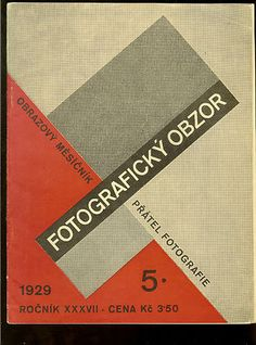 Fotograficky obzor 1929, issue 5 | Cover by Karel Teige