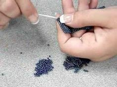How to Make a bracelet using the square stitch « Jewelry
