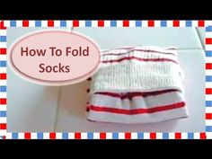 靴下のたたみ方 How to Fold Socks - YouTube