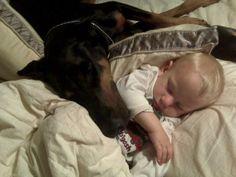 #Dobe with baby