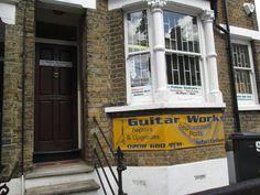 Feline Guitars Croydon London, England, Guitars, Broadway Shows, City, Cities, English, British, Guitar