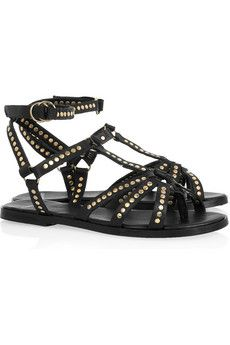 Pierre Hardy Studded leather sandals | THE OUTNET