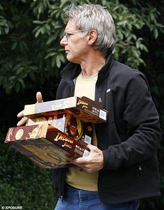 Harrison Ford, Collector of Rare Antiquities.