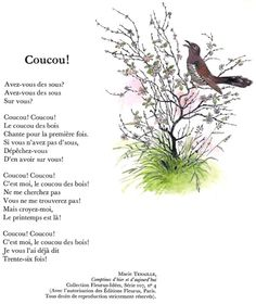 COUCOU ! (Marie Tenaille) French Poems, French Phrases, French Quotes, Basic French Words, How To Speak French, Learn French, French Language Lessons, French Language Learning, French Lessons