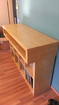 IKEA Hackers: Minimalistic fast buildup DJ Console