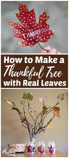 Make a DIY thankful
