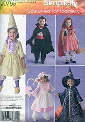 Simplicity Costumes for Toddlers Pattern
