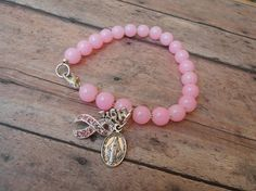 Hey, I found this really awesome Etsy listing at https://www.etsy.com/listing/521689315/cancer-braceletyou-got-this-bracelet
