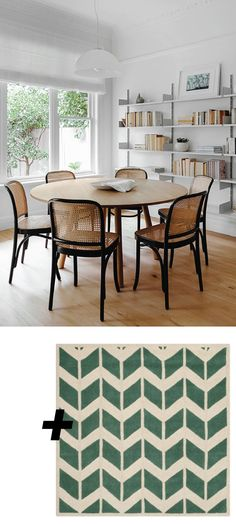 Part VI: Rug + Room // Dining Rooms | Trend Center By Rugs Direct