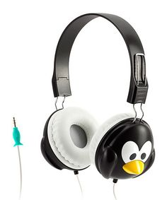 Look at this #zulilyfind! Penguin KaZoo MyPhones Volume-Limiting Headphones #zulilyfinds