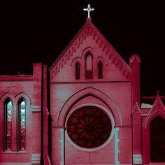 St. Thomas Aquinas. Brooklyn, Park Slope. Near-infrared.