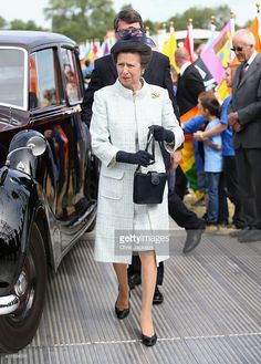 Princess Anne, Princess Royal attends a Magna Carta 800th Anniversary Commemoration Event on June 15, 2015 in…