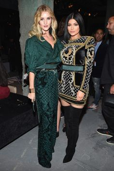 Kylie Jenner Photos - BALMAIN X H