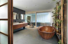 15 Wooden Bathtubs That Send You Back To Nature    DesignRulz.com