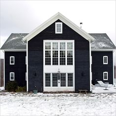 BARN HOMES: Where Others Saw a Big Old Barn, They Saw a Home. 7/3/2012 via @Matty Chuah New York Times